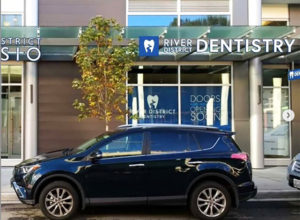 Parking in front of River District Dentistry