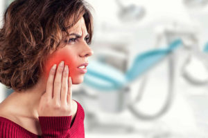 Experiencing pain is the first sign of a dental emergency
