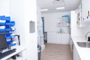 Inventory and instrument sterilization center