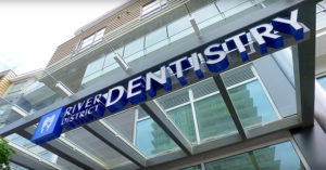 River District Dentistry Sign
