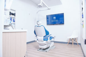 Entering the treatment rooms at River District Dentistry