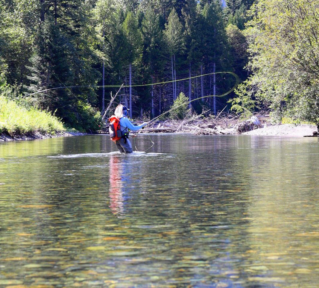Dr. Kollen enjoying a day of fishing